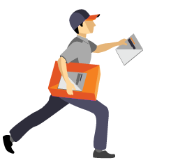 Delivering Letter Icon